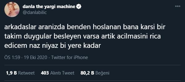 Danla Bilic'den Enes Batur ile ilgili şok itiraflar!
